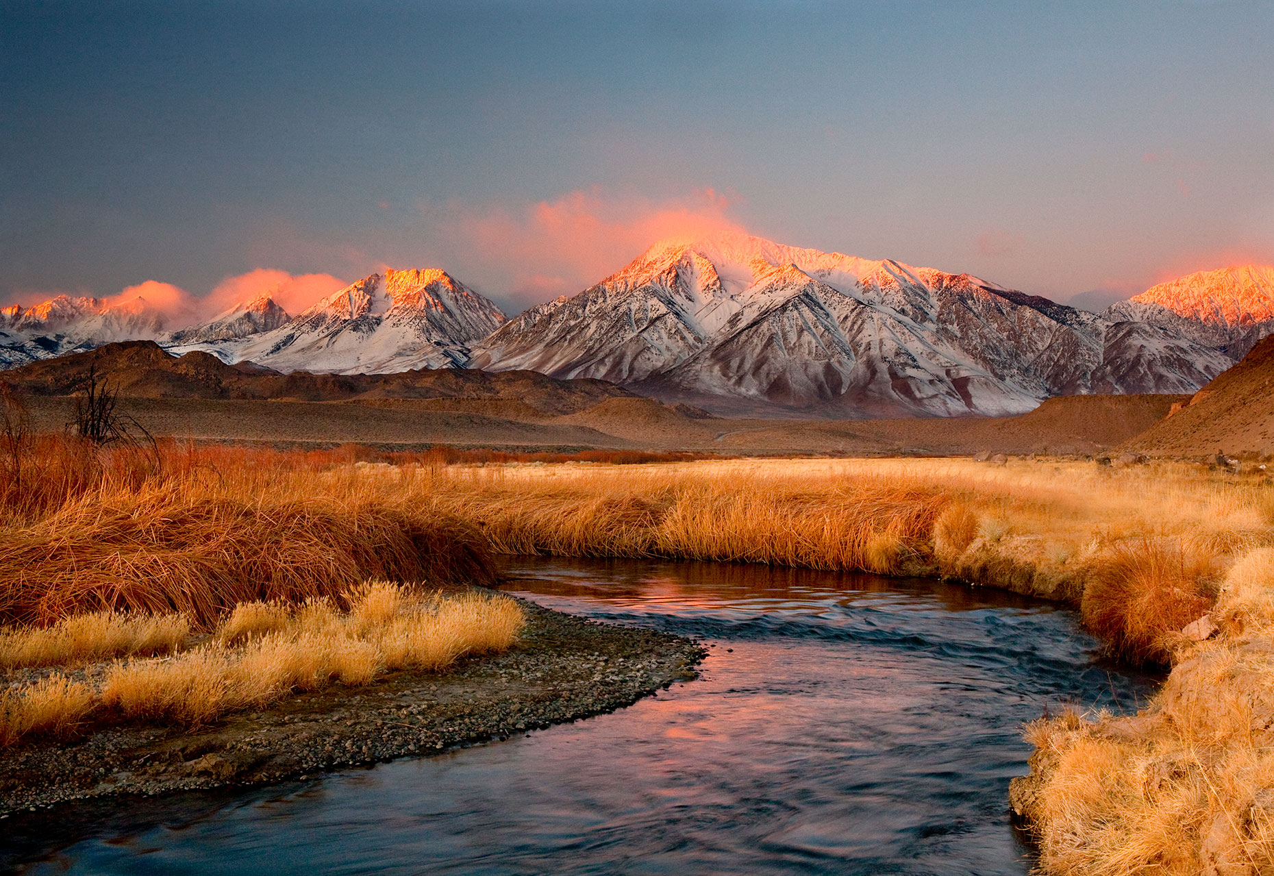 Owens-River-Dawn